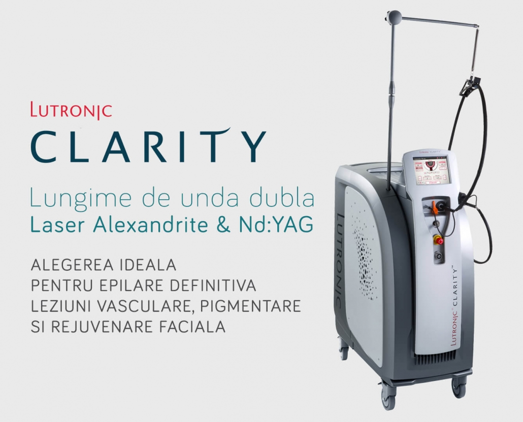Platforma Profesionala Laser Multifunctionala Nd:YAG si Alexandrite pentru Clinici Estetice