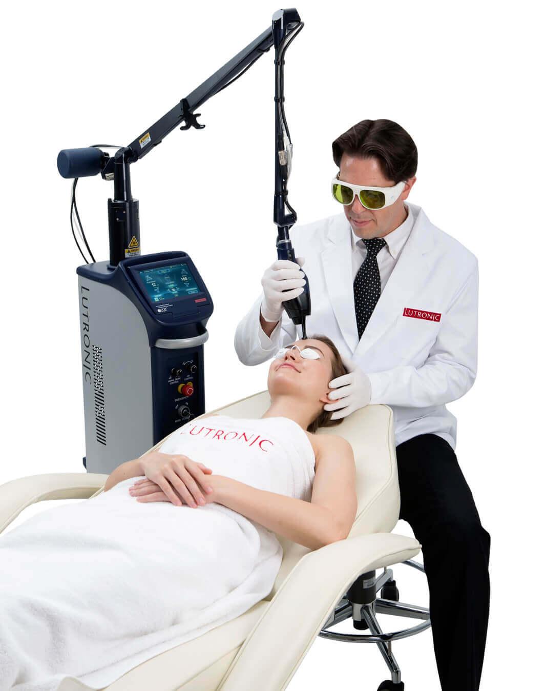Tratament Facial cu laser CO2 - Lutronic eCO2