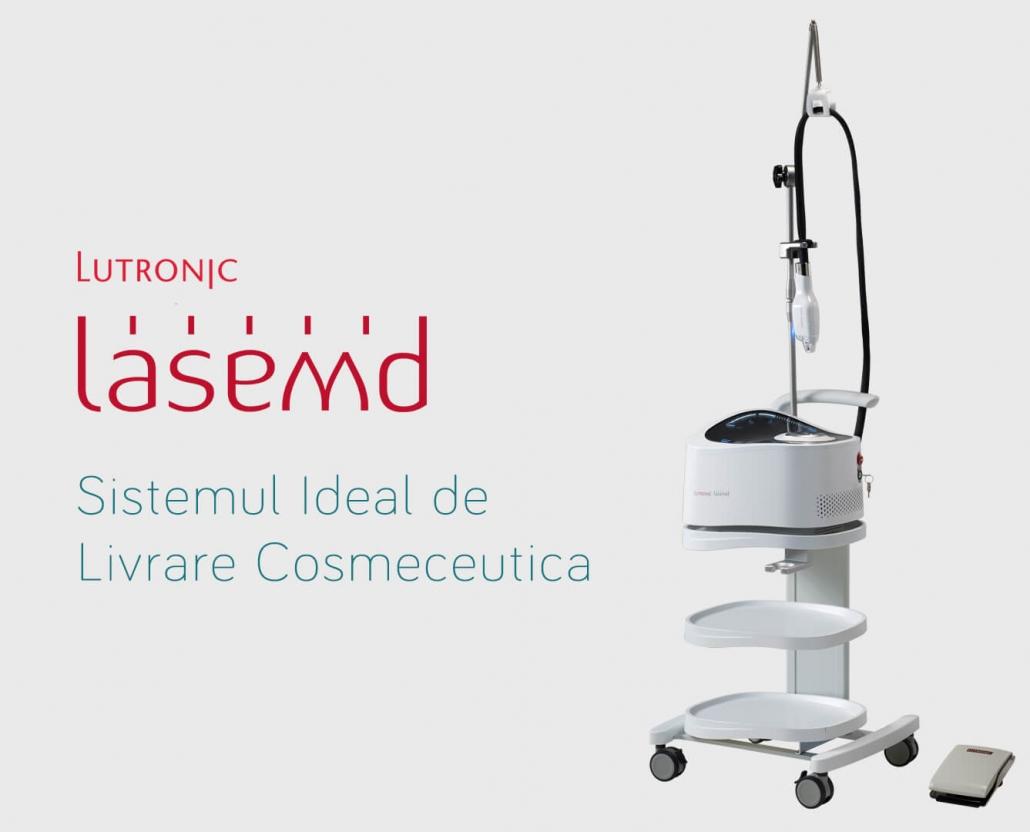 LaseMd - Aparat de tratamente faciale pentru clinici de infrumusetare