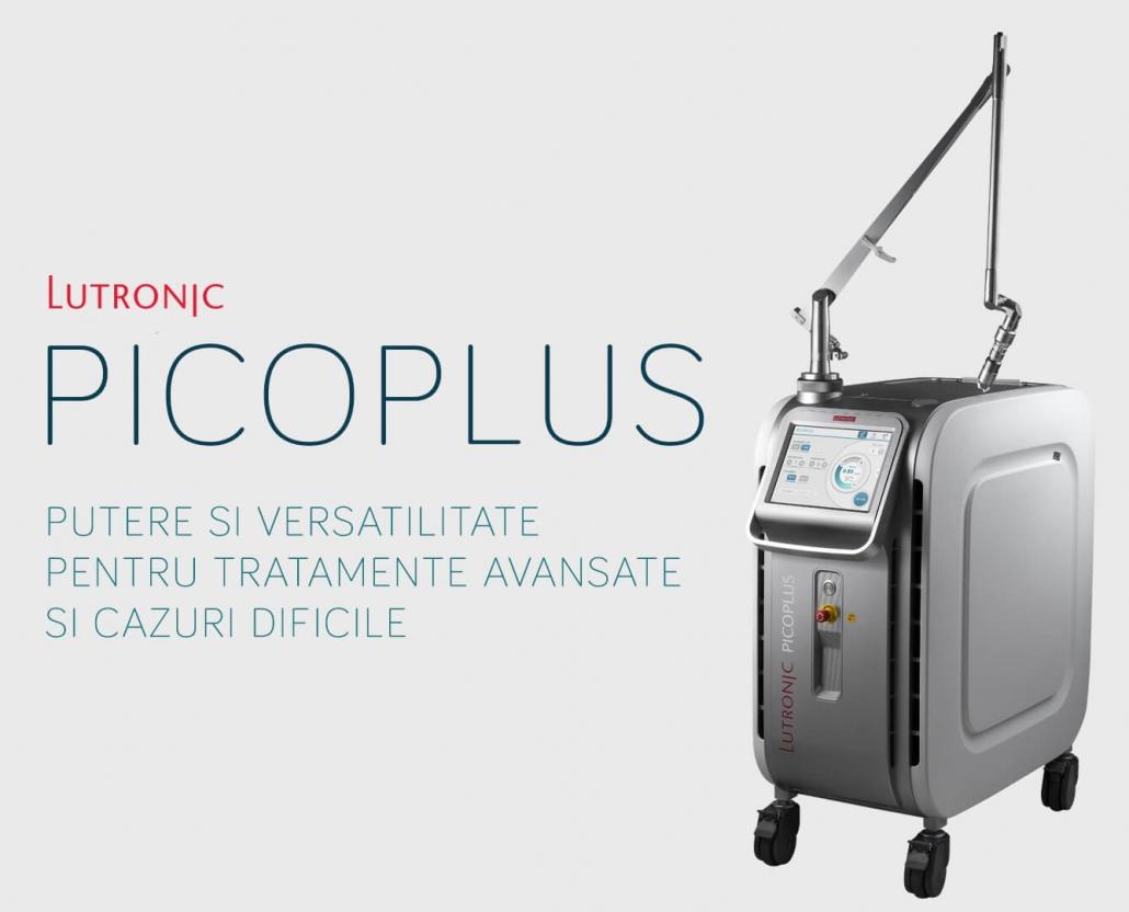 Picoplus este o platforma avansata Nd:YAG cu cele mai bune