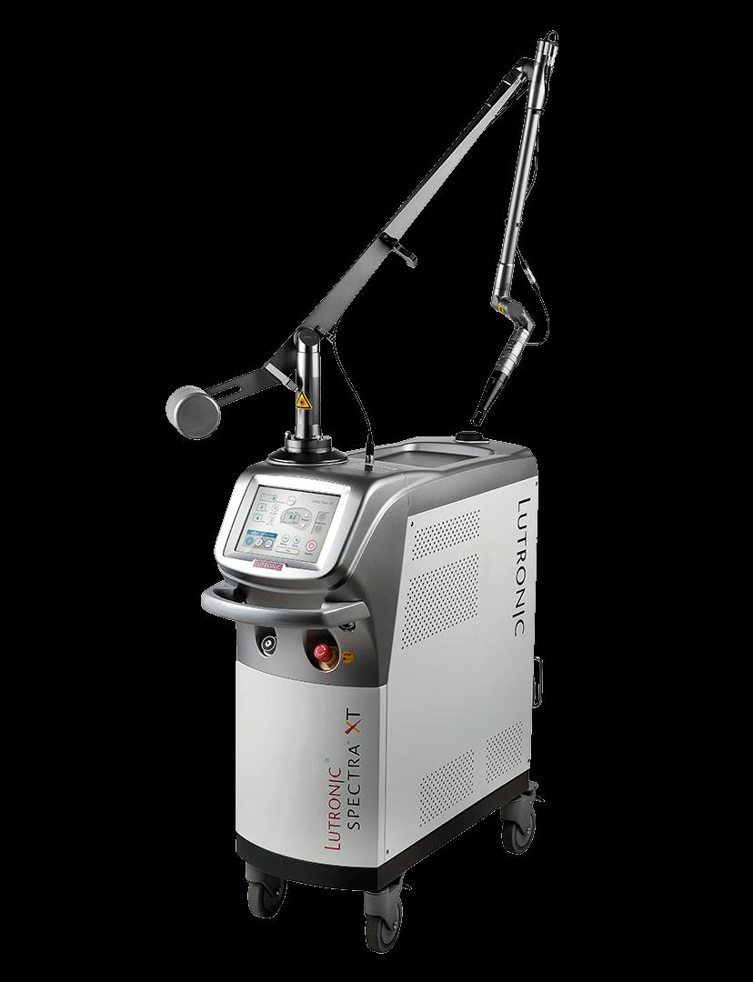 Spectra XT este un aparat cu laser Nd:YAG pentru clinici estetice si medici ce ofera cele mai moderne tratamente de infrumusetare de pe piata