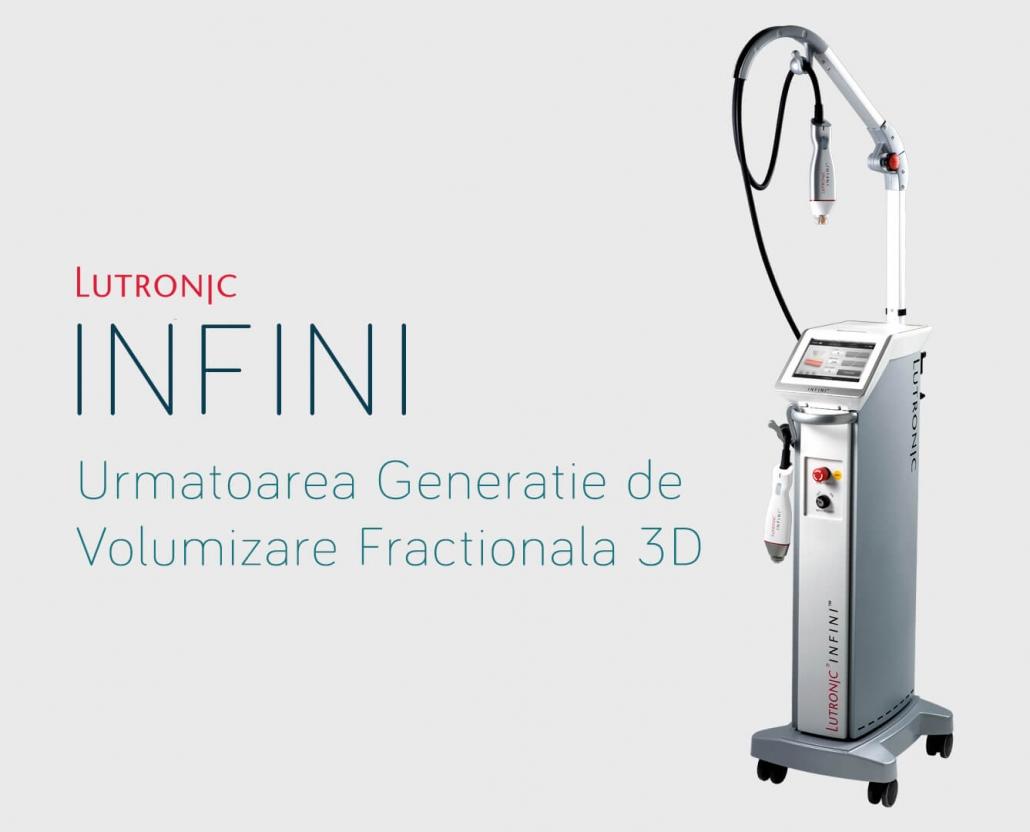 Infini - Aparat pentru clinici estetice, dedicat volumizarii fractionate 3D