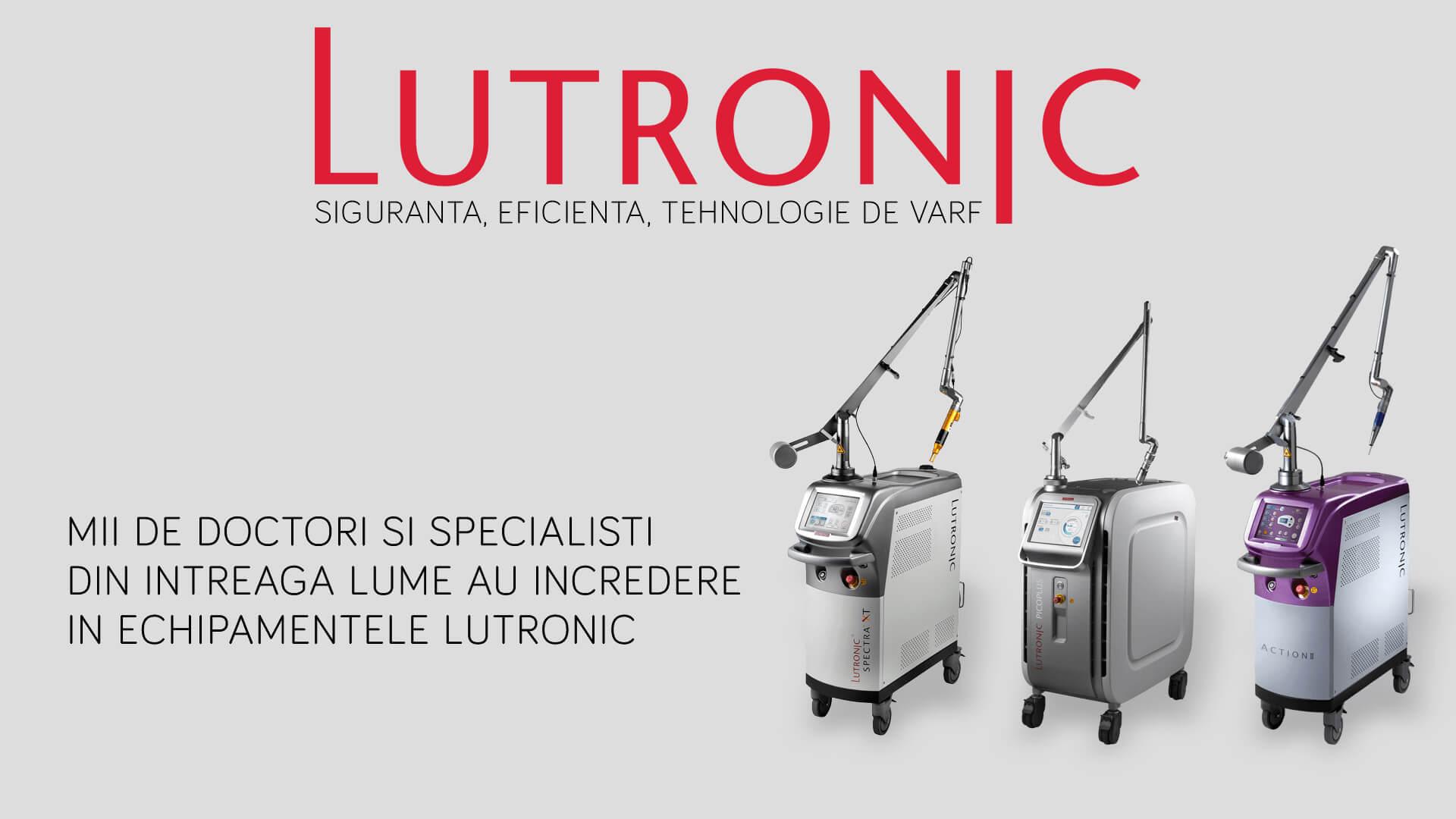 LutronicL Distribuitor de aparatura profesionala pentru clinici estetice si de dermatologie