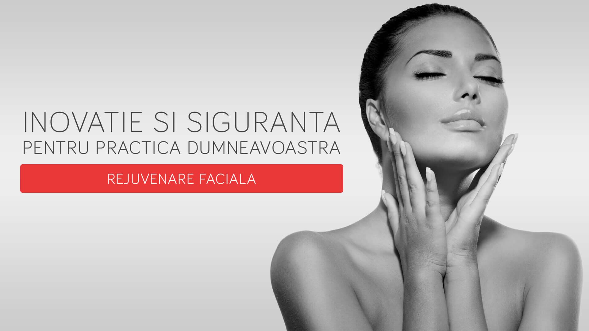 Aparatura de rejuvenare faciala pentru clinici estetice