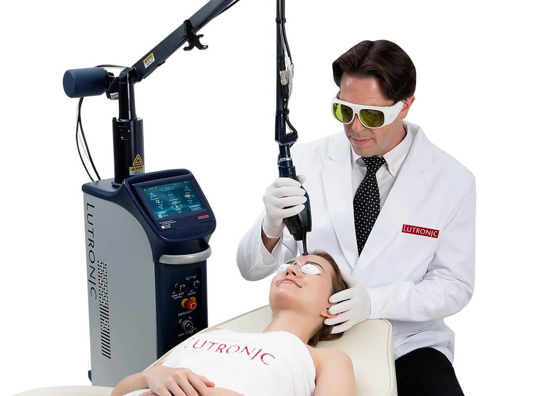tratament facial cu aparatul laser co2
